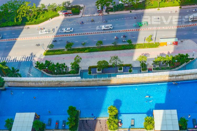 View Hồ Bơi Căn hộ Sunrise City 2 phòng ngủ tầng cao W2 view hồ bơi