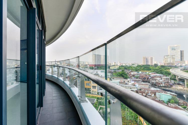 View Balcony Căn hộ City Garden 2PN, diện tích rộng rãi, view đẹp