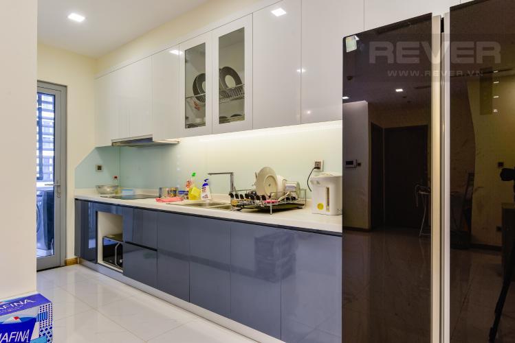 Bếp Căn hộ Vinhomes Central Park 2PN nội thất đầy đủ, có thể dọn vào ở ngay