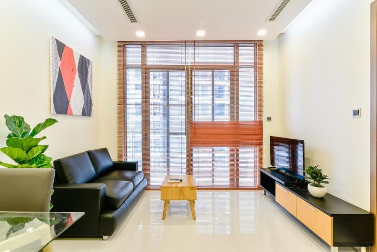 Căn hộ Vinhomes Central Park 1 phòng ngủ tầng cao P7 full nội thất