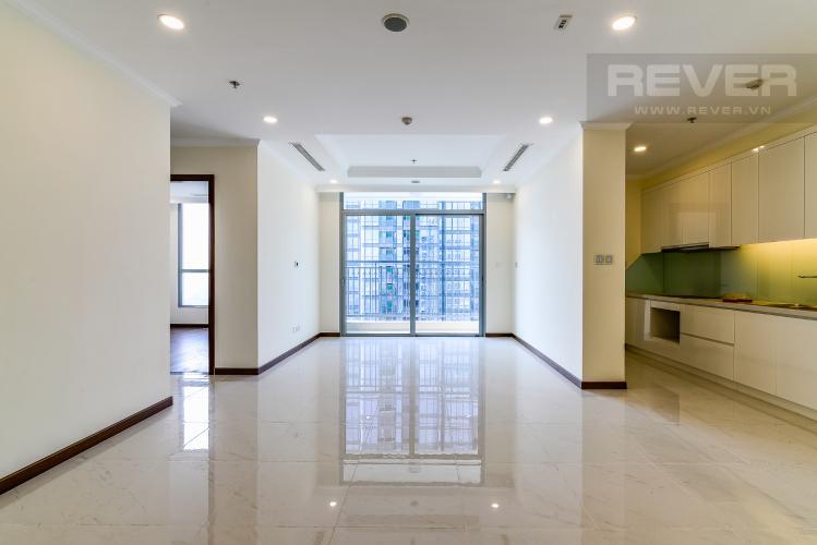 Phòng Khách Căn hộ Vinhomes Central Park 4 phòng ngủ tầng cao L6 view sông