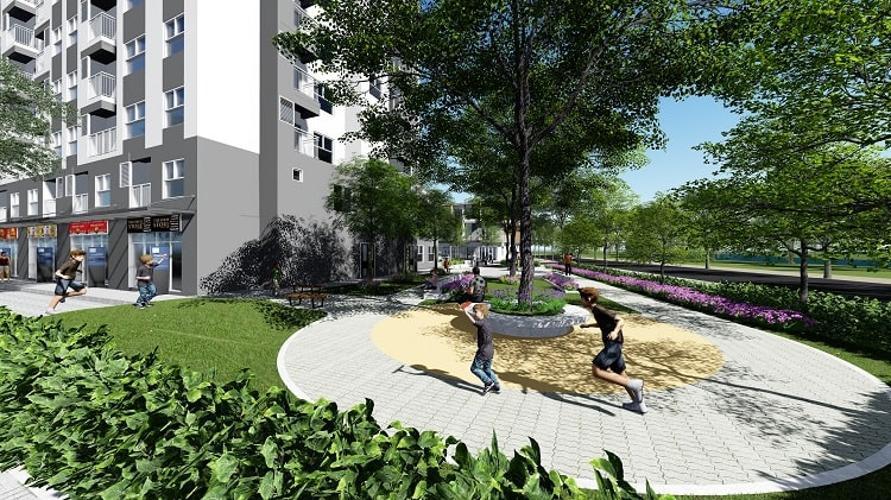 Hado Riverside - Phối cảnh công viên Hado Riverside