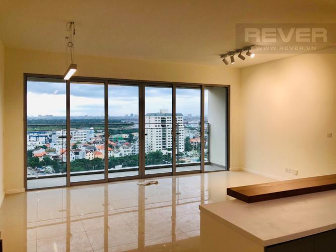 Phòng Khách Bán căn hộ Estella Heights 3PN, tháp T3, nội thất cơ bản, view Xa lộ Hà Nội