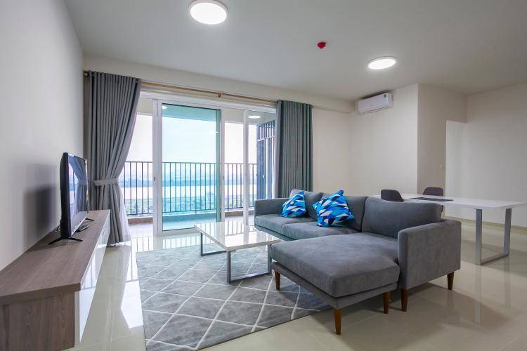 Phòng Khách Căn hộ Vista Verde 3 phòng ngủ tầng trung tháp Orchid view sông