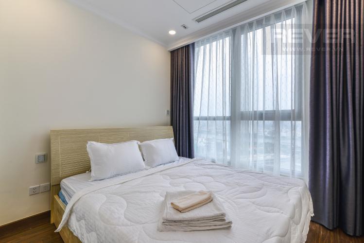 Phòng Ngủ 2 Căn hộ Vinhomes Central Park 2 phòng ngủ tầng cao Landmark 6