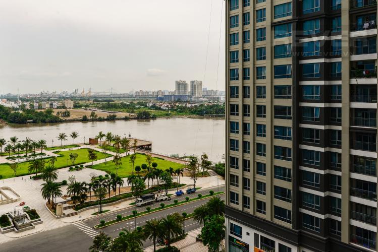 View Bán căn hộ Vinhomes Central Park 2PN tầng trung, view sông, đầy đủ nội thất