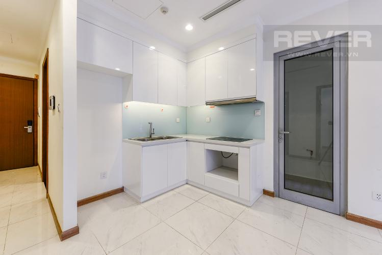 Bếp Căn hộ Vinhomes Central Park 2 phòng ngủ tầng cao L1 view sông