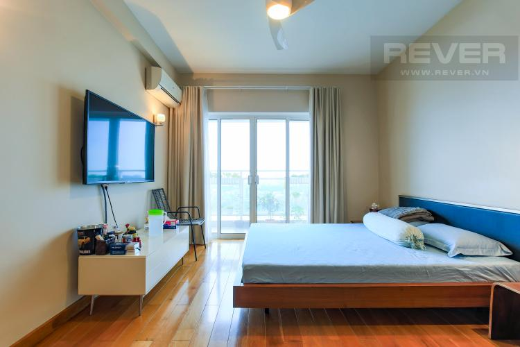 Phòng Ngủ 1 Căn hộ River Garden 2 phòng ngủ, tầng cao, view sông