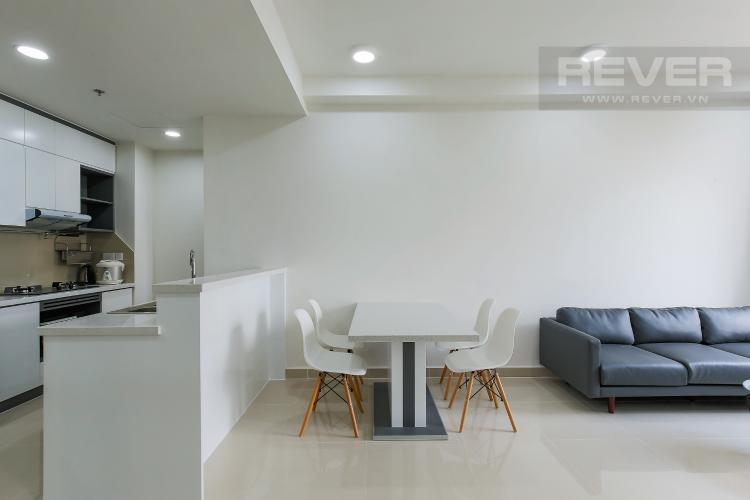 Bàn Ăn Căn hộ The Tresor 2 phòng ngủ tầng trung TS1 view nội khu