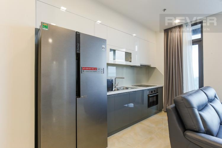 Phòng Bếp Officetel Vinhomes Golden River 2 phòng ngủ tầng cao A3 đầy đủ nội thất