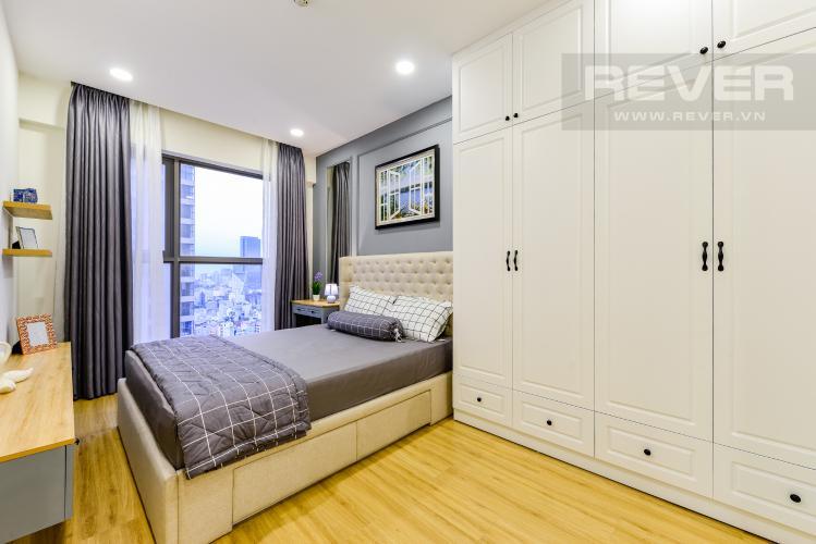 Phòng ngủ 1 Cho thuê căn hộ Masteri Millennium tầng cao, view sông 2PN đầy đủ nội thất
