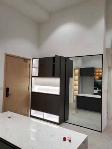 Không gian căn hộ Palm Heights, Quận 2 Căn hộ tầng trệt Palm Heights đầy đủ nội thất, 2 phòng ngủ.