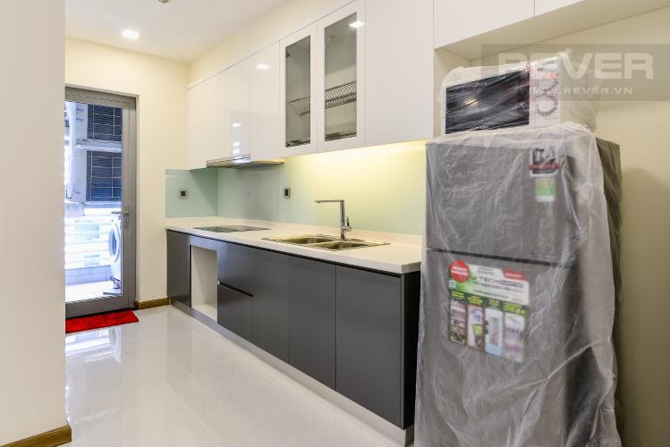 Nhà Bếp Căn hộ Vinhomes Central Park 2 phòng ngủ tầng cao P2 nội thất đầy đủ