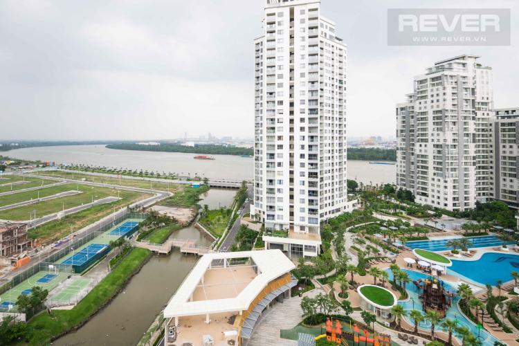 View Bán hoặc cho thuê căn hộ Diamond Island - Đảo Kim Cương 1PN, đầy đủ nội thất, view sông Sài Gòn