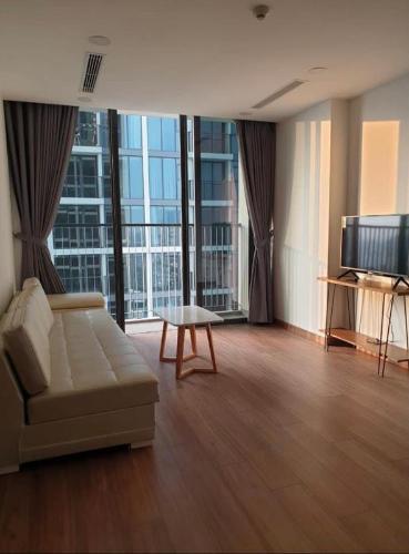 Phòng khách căn hộ Eco Green Saigon Căn hộ 3 phòng ngủ Eco Green Saigon thiết kế hiện đại đầy đủ nội thất