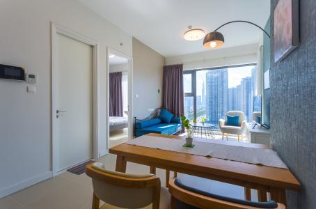 Bán và cho thuê căn hộ Aspen Gateway Thảo Điền tầng cao, 1PN, đầy đủ nội thất