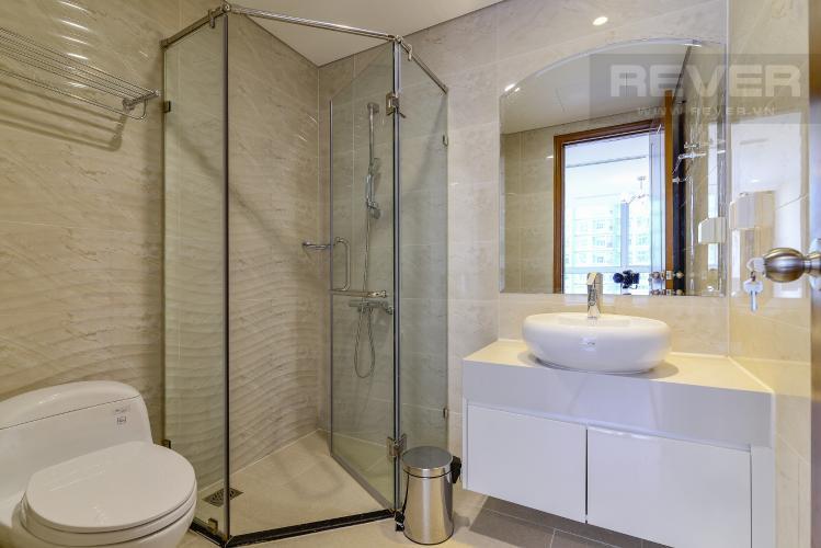 Phòng Tắm 2 Cho thuê căn hộ Vinhomes Central Park 2PN 2WC, nội thất cơ bản, view sông