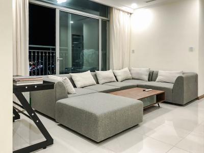 Cho thuê căn hộ Vinhomes Central Park 2PN 2WC, đầy đủ nội thất, view thành phố