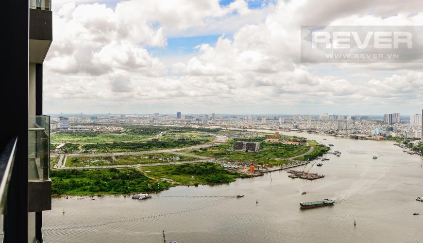 view Cho thuê căn hộ Vinhomes Golden River tầng cao, 1PN, view sông