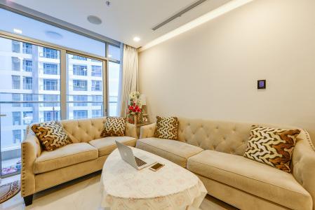 Căn hộ Vinhomes Central Park 3 phòng ngủ tầng cao P6 đầy đủ tiện nghi