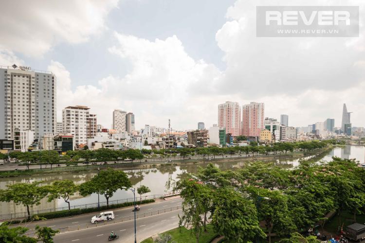 View Cho thuê căn hộ Grand Riverside 3PN, đầy đủ nội thất, view sông thoáng mát