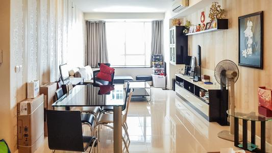 Cho thuê căn hộ Sunrise City 3PN, tầng thấp, tháp V5 khu South, đầy đủ nội thất