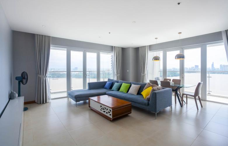 Bán căn hộ Diamond Island 3PN, đầy đủ nội thất, view sông Sài Gòn