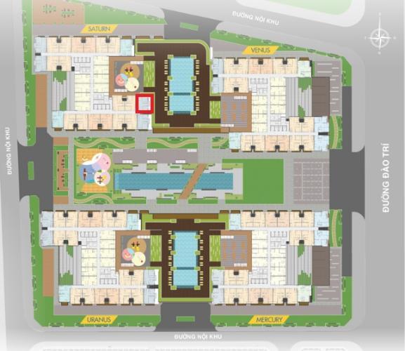 layout căn hộ Q7 Saigon Riverside Bán căn hộ tầng trung Q7 Saigon Riverside view hồ bơi nội khu.