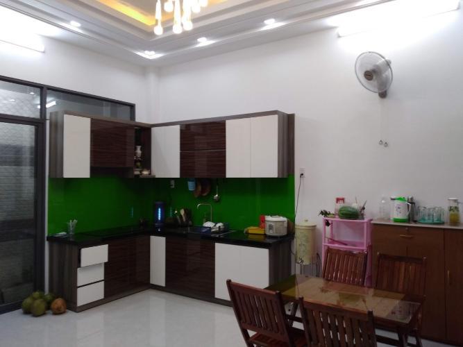 Khu vực bếp nhà phố Huỳnh Tấn Phát, Nhà Bè Nhà phố hướng Đông Nam, hẻm xe hơi, diện tích 80m2.