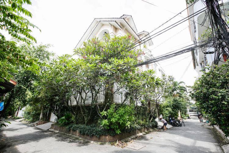 mặt tiền Villa 2 mặt tiền đường 3 Làng Báo Chí, Thảo Điền thiết kế sang trọng, tiện nghi