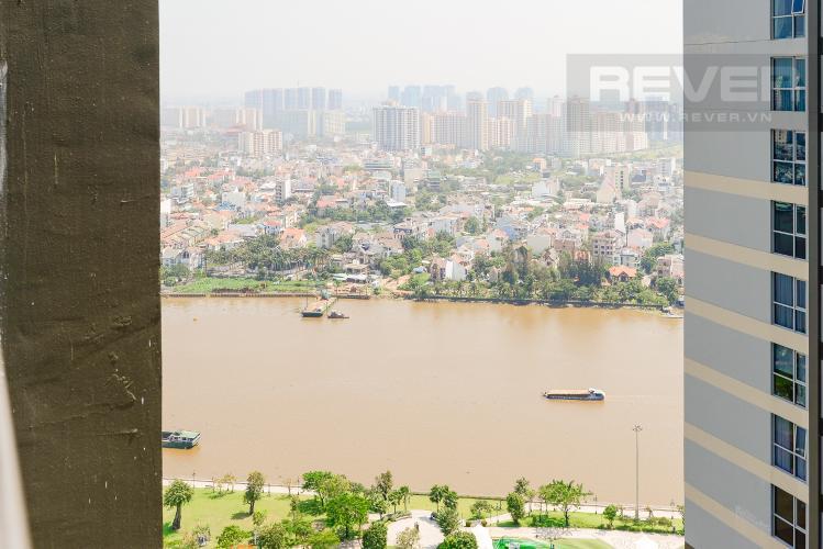 View Căn hộ Vinhomes Central Park tầng cao, tháp Park 4, 2PN nội thất đầy đủ, view sông