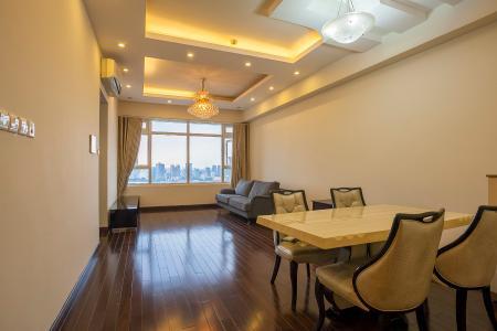 Căn hộ Saigon Pearl 2 phòng ngủ tầng cao Ruby 1 view sông