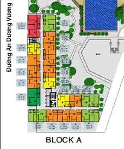 mặt bằng căn hộ city gate 3 Căn hộ view thành phố City Gate 3 nội thất cơ bản.