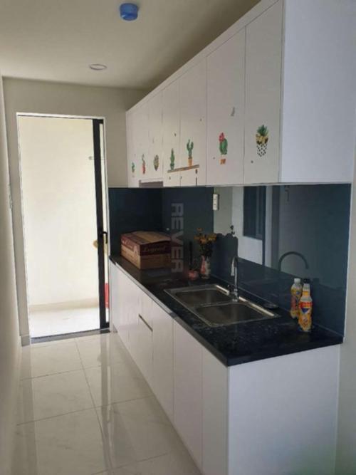 Phòng bếp căn hộ Green River, Quận 8 Căn hộ Green River tầng cao ban công hướng Đông Nam, view thành phố.