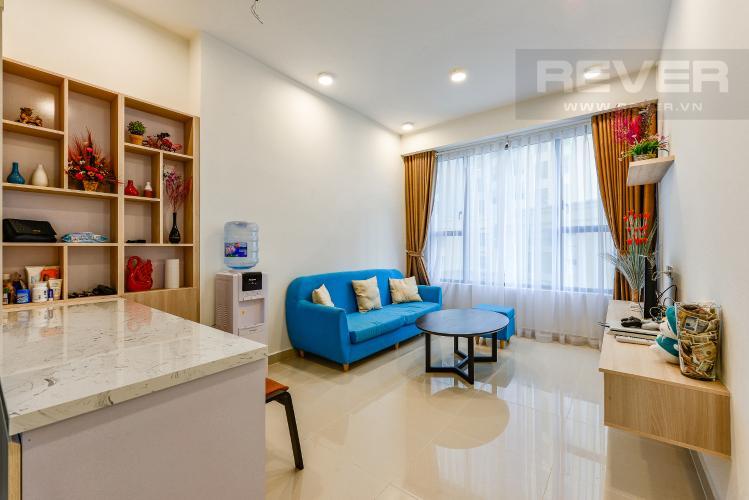 Phòng khách Căn hộ The Tresor tầng thấp, tháp TS, 2 phòng ngủ, full nội thất
