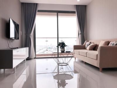 Cho thuê căn hộ The Gold View 2PN, diện tích 80m2, đầy đủ nội thất, có ban công thông thoáng
