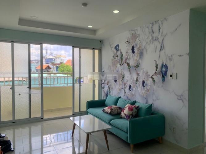 Căn hộ chung cư Khuông Việt tầng 1 view thoáng mát, nội thất cơ bản.