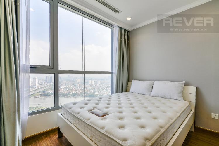 Phòng Ngủ 2 Căn hộ Vinhomes Central Park 2 phòng ngủ tầng cao L2 view sông