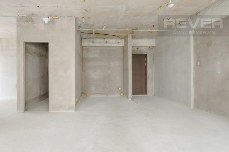 Phòng Khách Và Lobby Căn hộ Sunrise Riverside tầng trung, 3PN, có ban công