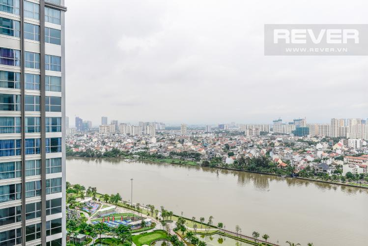 View Căn hộ Vinhomes Central Park 3 phòng ngủ tầng cao Central 1