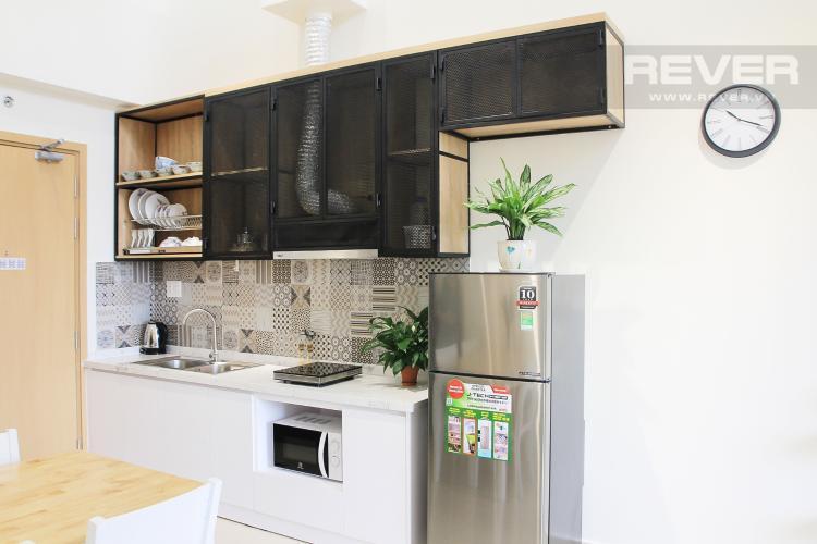 Phòng Bếp Bán căn hộ M-One Nam Sài Gòn 2 phòng ngủ, đầy đủ nội thất, thiết kế ban công nhỏ xinh