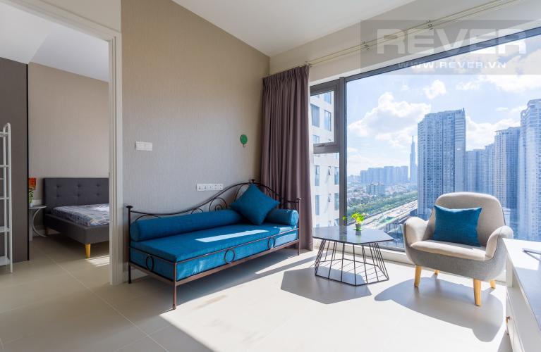 Phòng Khách Bán và cho thuê căn hộ Aspen Gateway Thảo Điền tầng cao, 1PN, đầy đủ nội thất
