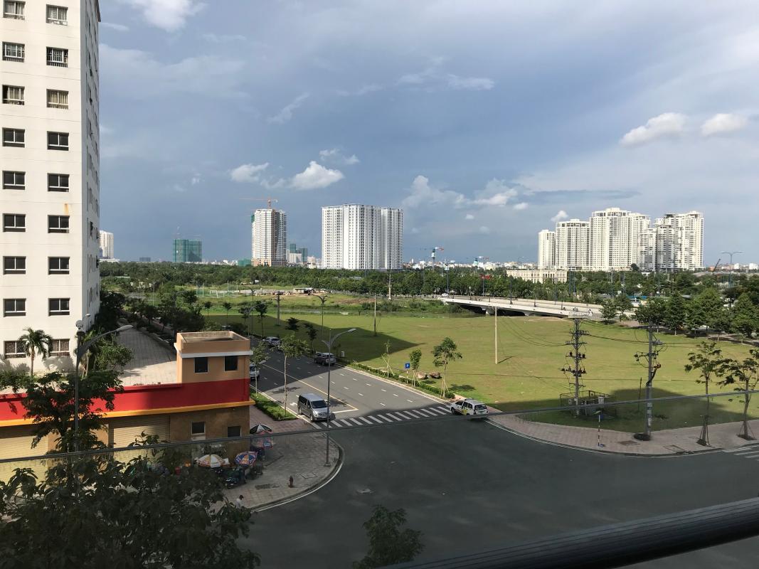 bb5.4 Bán căn hộ New City Thủ Thiêm 1 phòng ngủ, tháp Babylon, nội thất cơ bản, view Đảo Kim Cương