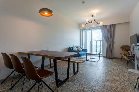 Căn hộ Vista Verde tầng cao, tháp T1, 2 phòng ngủ, view sông