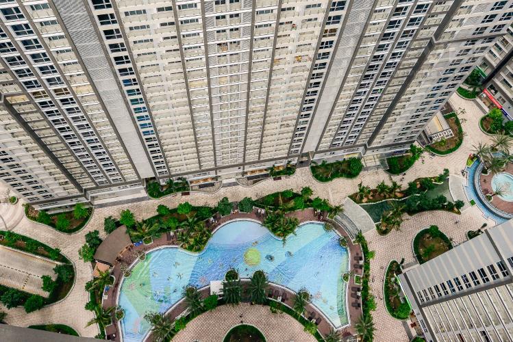 View Căn hộ Vinhomes Central Park 2 phòng ngủ Park 2 nội thất cơ bản