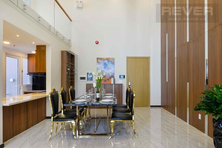 Phòng Khách Bán căn Duplex Vista Verde 2PN, đầy đủ nội thất
