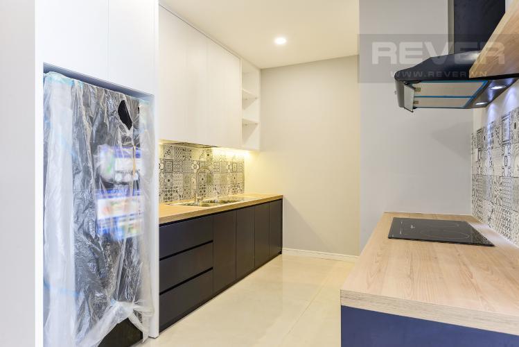 Bếp Cho thuê căn hộ Masteri Millennium tầng cao, 2PN, view sông