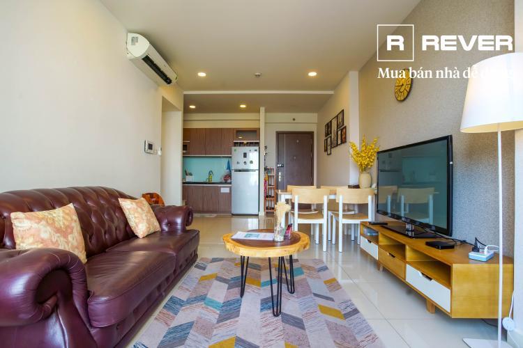 Cho thuê căn hộ 3 phòng ngủ Icon 56, đầy đủ nội thất, căn góc view Bến Vân Đồn