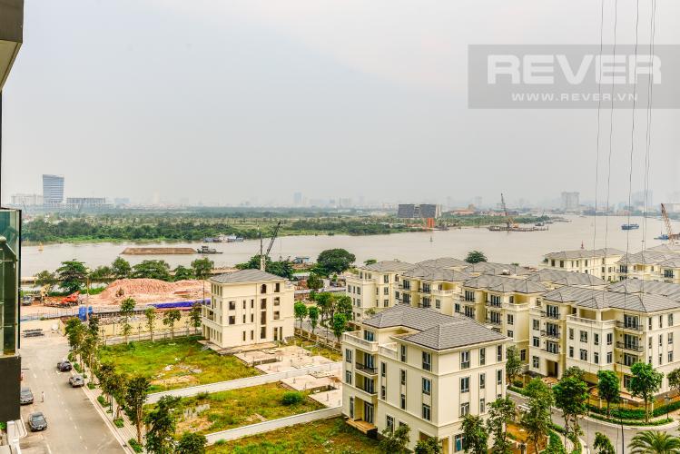 View Bán và cho thuê căn hộ Vinhomes Golden River tầng trung, 1PN đầy đủ nội thất, view sông