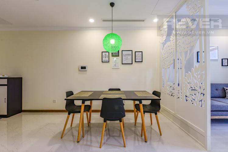 Phòng Ăn Cho thuê căn hộ Vinhomes Central Park tầng cao 2PN view sông